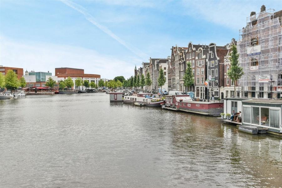verkoop, Amstel, uitzicht op het water
