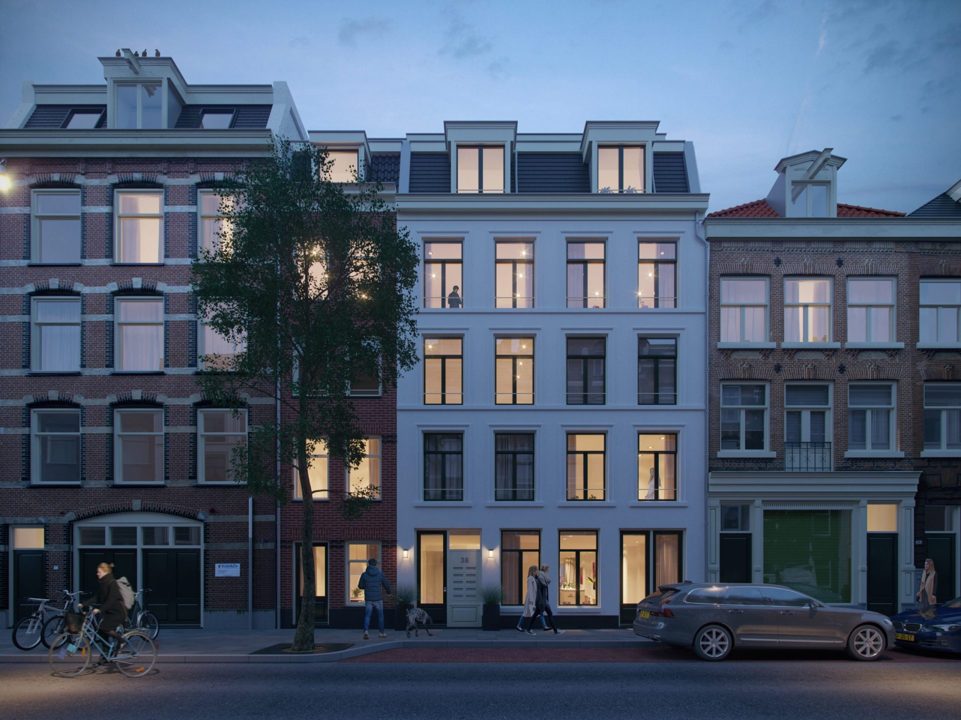 Uptown Residence - 01. Exterieur Voorgevel